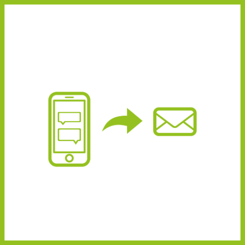 Whatsapp to Email Icon