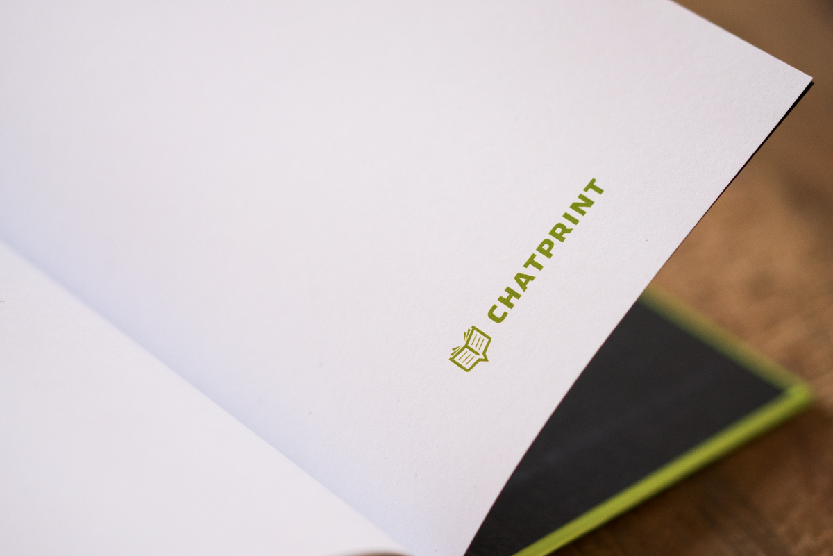 WhatsApp Buch gedruckt auf hochwertigem Papier