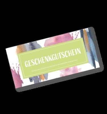 Chatprint- WhatsApp Buch Geschenkgutschein